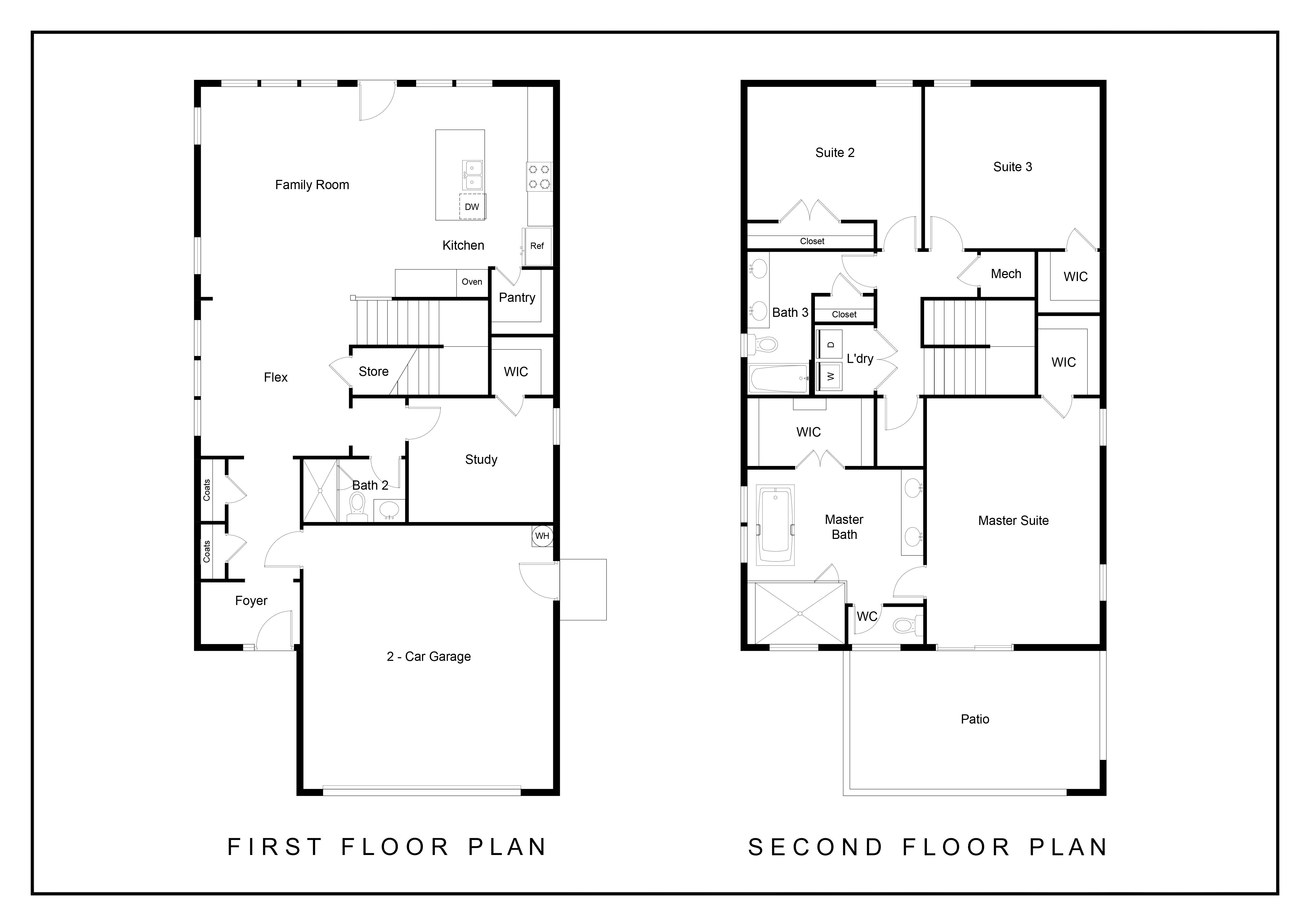Floorplan - Coxe
