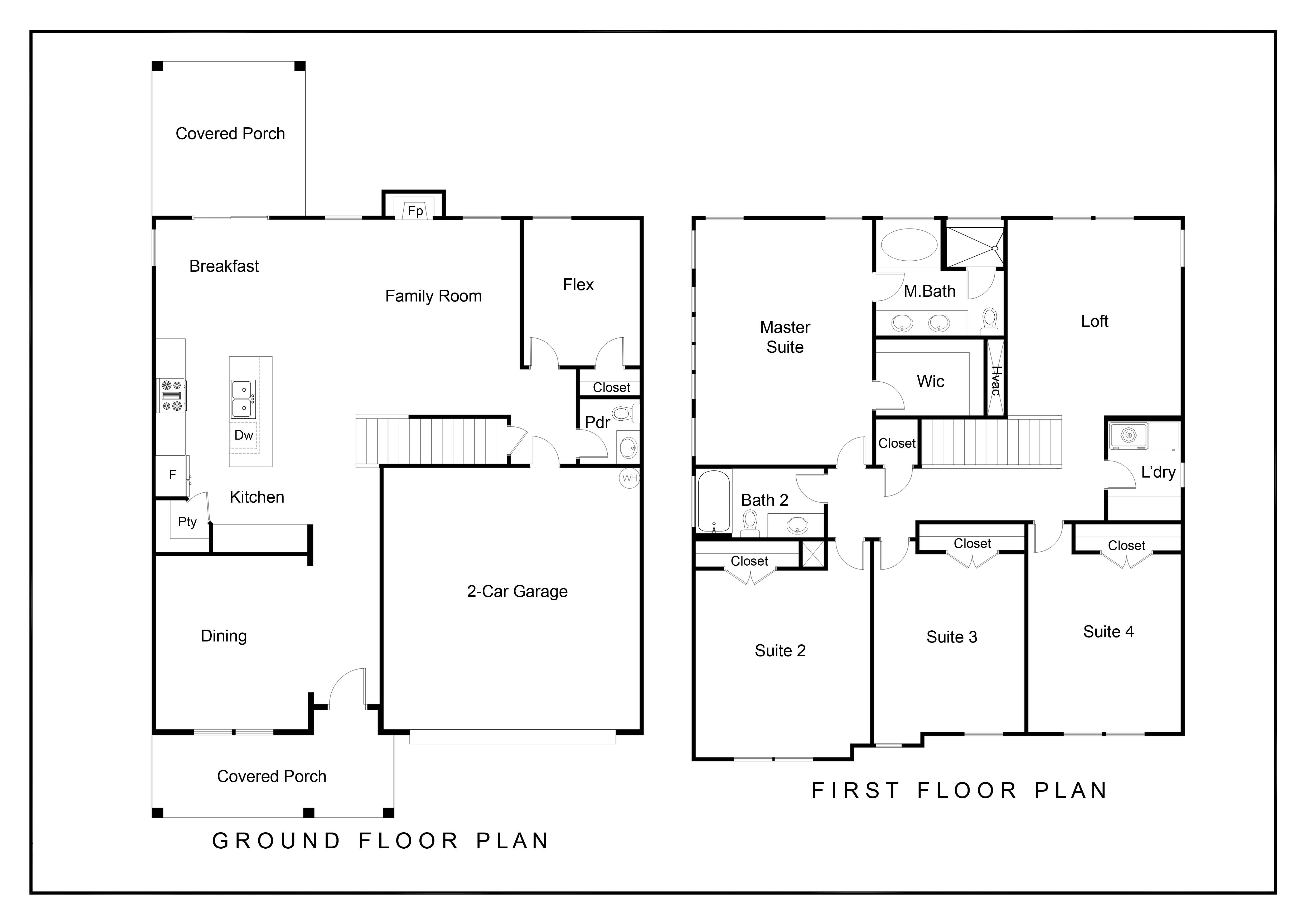 Floorplan - Hickory