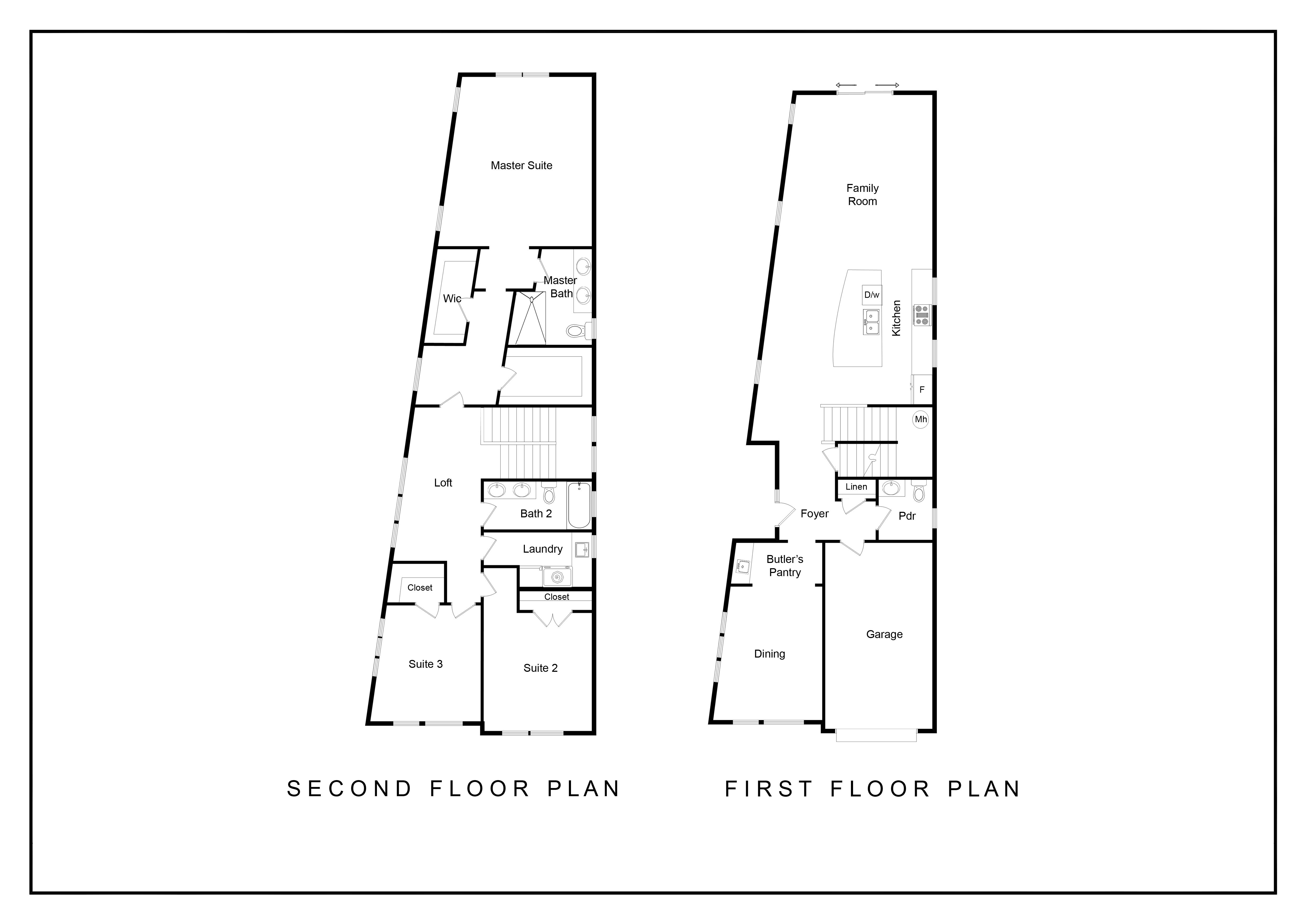 Floorplan - Hudson